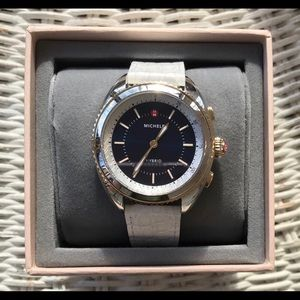 Michele HYbrid SmartWatch Two tone Navy&White